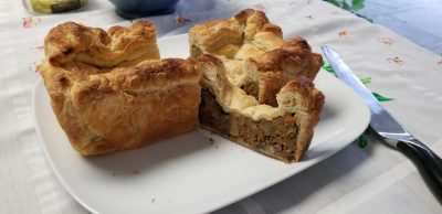Vegan walnut wellington