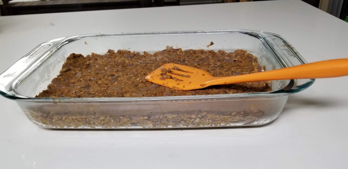 Vegan mince for vegan shepherd's pie