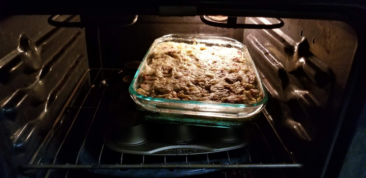 bake vegan shepherd's pie