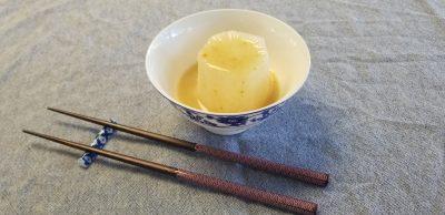vegan furofuke daikon (stewed tuber)