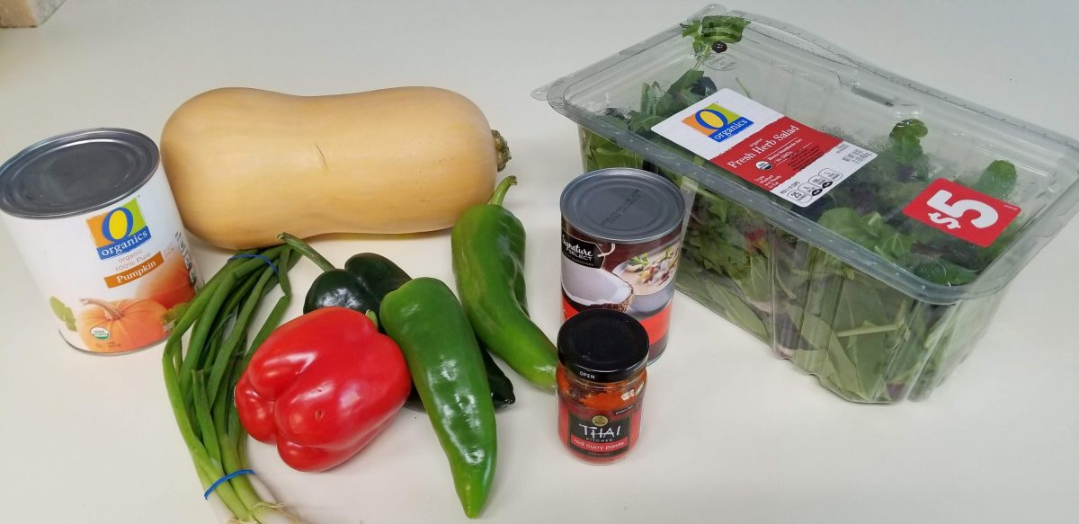Vegan Thai Curry Recipe Ingredients