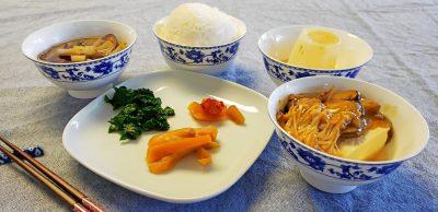 Vegan Winter Japanese Feast Meal