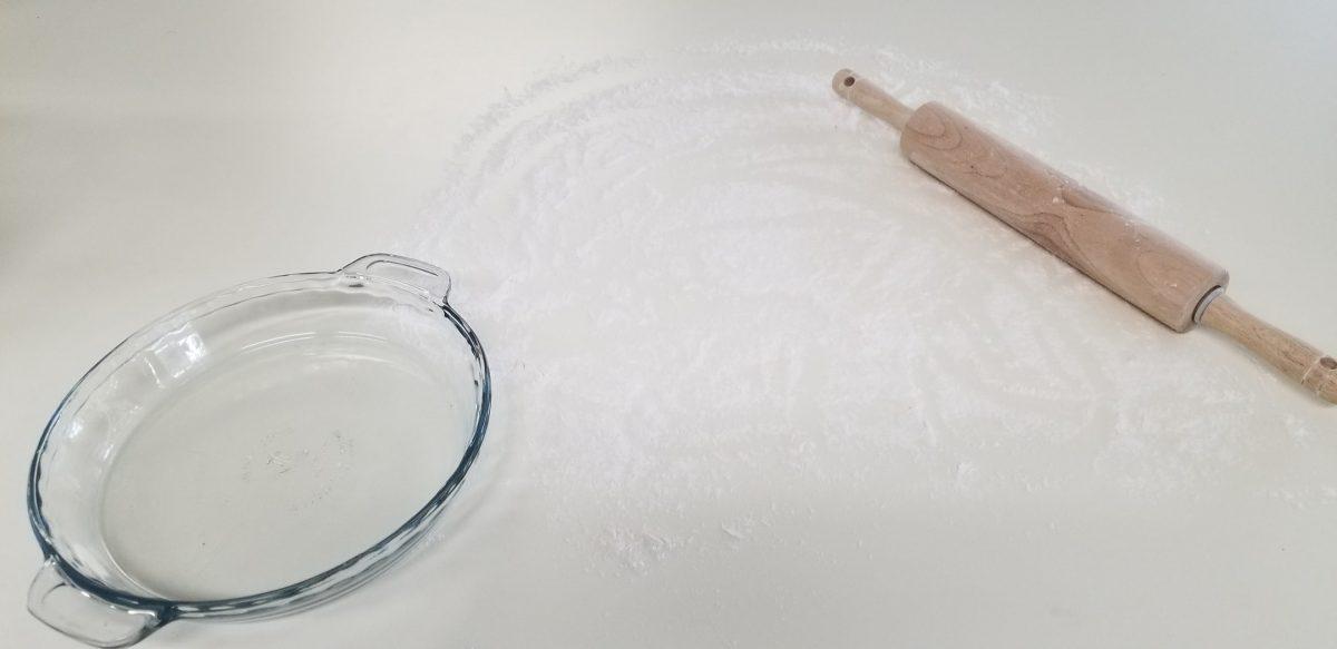 flour a working surface
