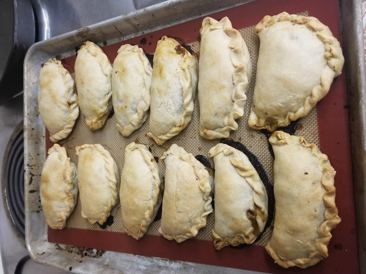 baked vegan empanadas