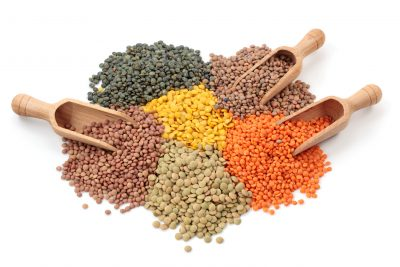 Lentils for Vegan Protein