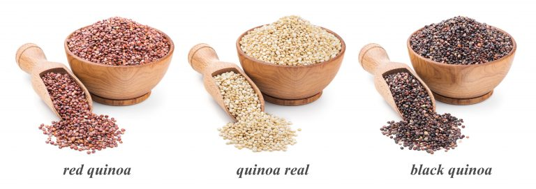 Great Vegan Protein from Different Kinds of Quinoa