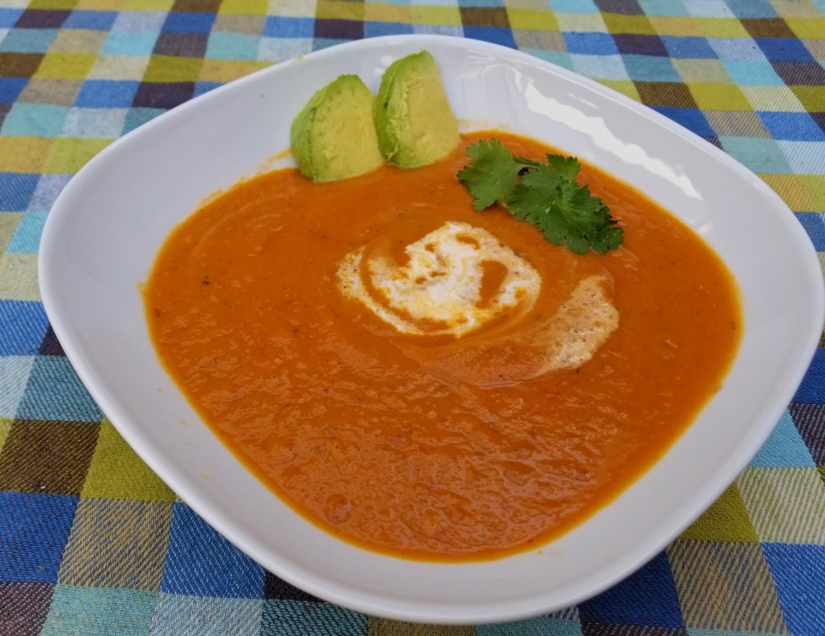 Vegan Sweet Potato Bisque