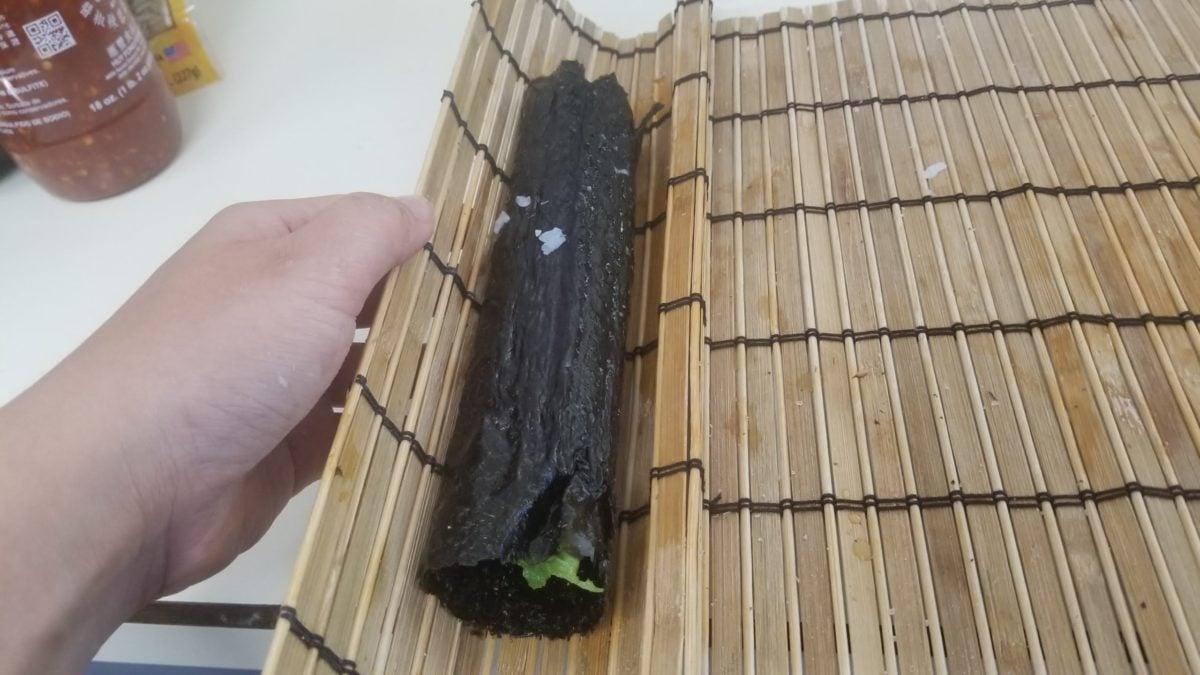 roll vegan sushi ヴィーガン肉魚卵乳なし