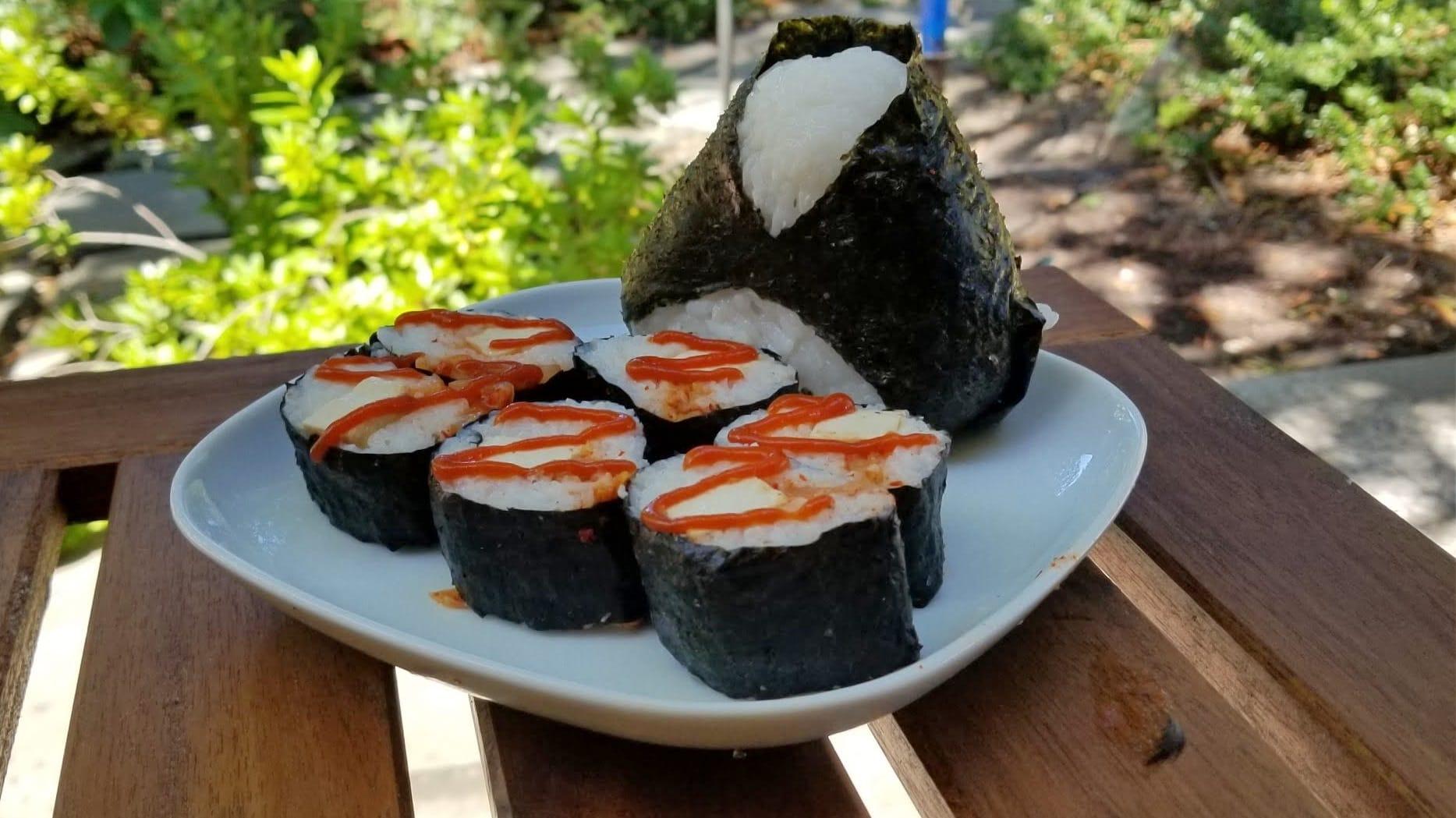 vegan kimbap 김밥